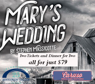 MARY'S WEDDING in Montgomery Theater