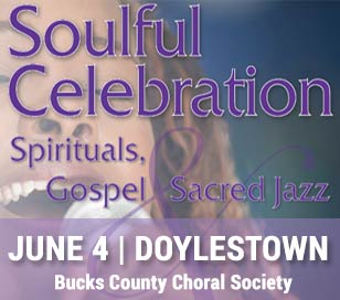 Our final concert of the season celebrates the depth of feeling from the soul in the performance of spirituals, gospel and sacred jazz in the African-American tradition. We will be joined by Ruth Naomi Floyd, composer and vocalist, and Jay Fluellen, composer and pianist, along with the Northeast Philadelphia High School Concert Choir, directed by Fluellen.