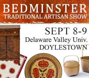 BEDMINSTER TRADITIONAL ARTISAN SHOW in Delaware Valley University convocation hall