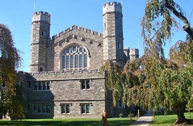 M. Carey Thomas Library, on Bryn Mawr College Campus