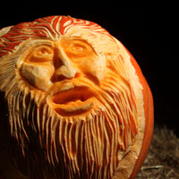 Pumpkin Carve at Howell Living History Farm